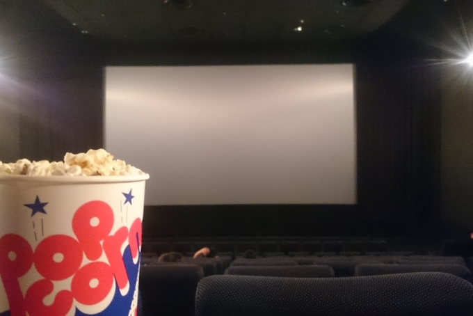 映画館のバイトイメージ