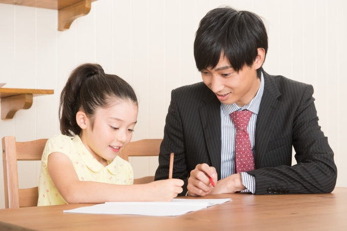 家庭教師のバイトイメージ