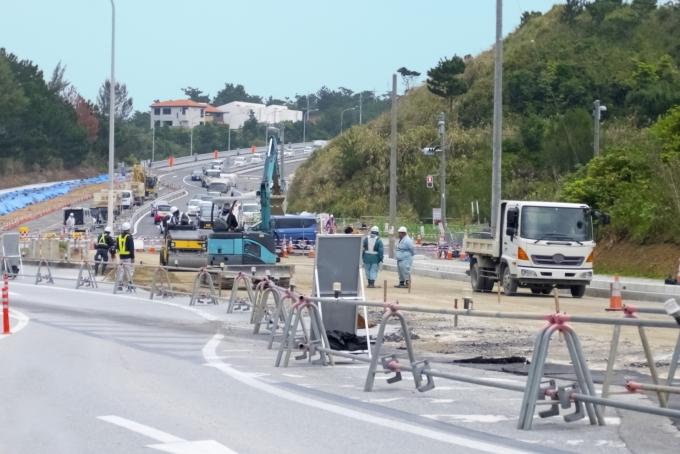 道路工事のバイトイメージ