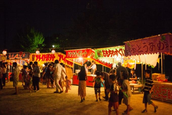 祭りの売り子のバイトイメージ