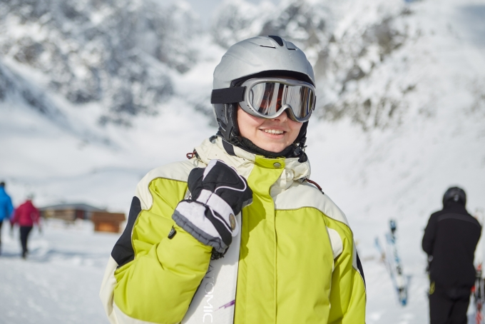 スキー用品の貸し出しのバイトイメージ