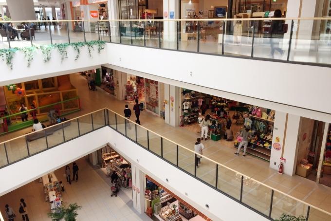 百貨店のバイトイメージ