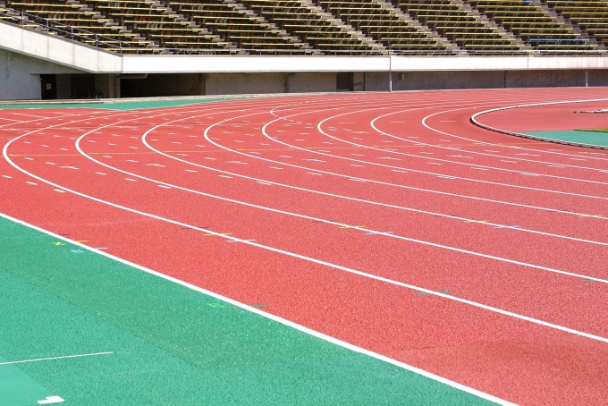 スポーツ会場のバイトイメージ
