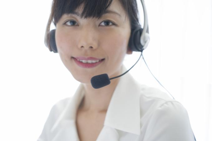 コールセンターのバイトイメージ