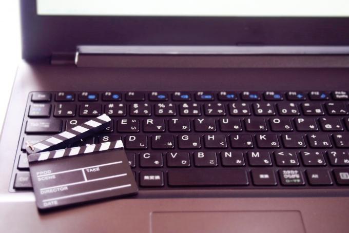 映像編集のバイトイメージ