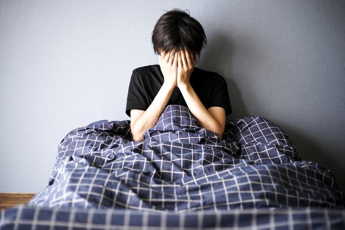 バイト前日なのに眠れない!原因と対策についてのイメージ
