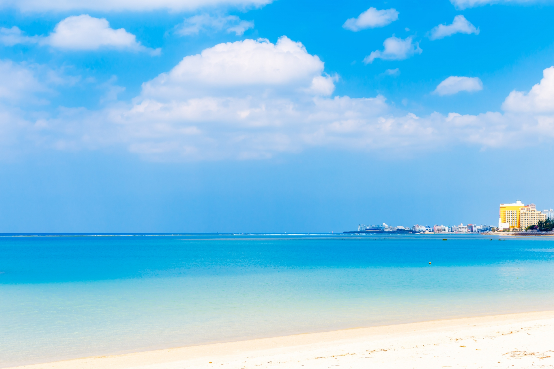 海とリゾート施設