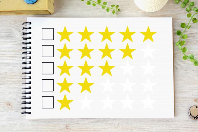 5つの評価ポイント