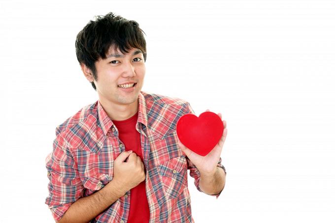 バレンタインを催促する男性